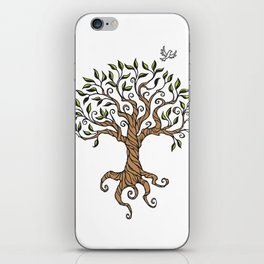 Shirley's Tree Colored iPhone Skin