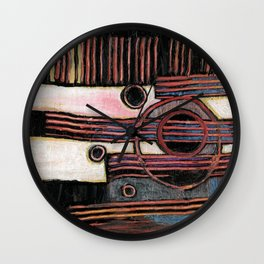 Gutter Sewer Surprise 2 Wall Clock