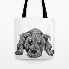 Deed, not breed... Tote Bag