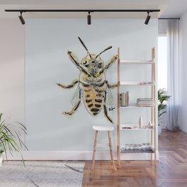 Bee-friendly Wall Mural