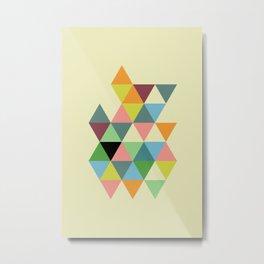 Abstract #585 Metal Print