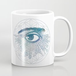 Mandala Vision Flower of Life Coffee Mug