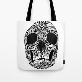 The Carved Skull Tote Bag