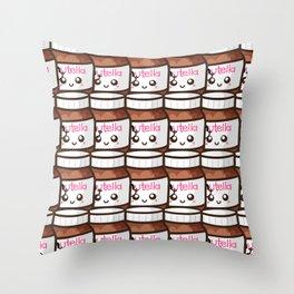 Nutellas! Throw Pillow