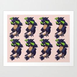Many Brachydios! Art Print