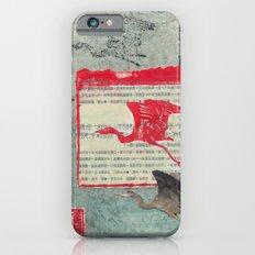 Blue Heron Collage iPhone 6s Slim Case