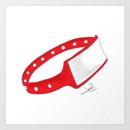 Polsera Vermella Art Print