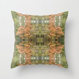 Autumnal Pattern Throw Pillow