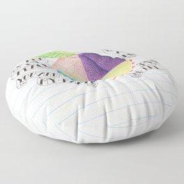 Peach Floor Pillow