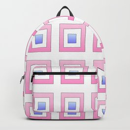 Tribute to mondrian 7- piet,geomtric,geomtrical,abstraction,de  stijl, composition. Backpack