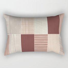Rustic Tiles 03 Rectangular Pillow