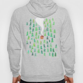 Alone in the woods Hoody