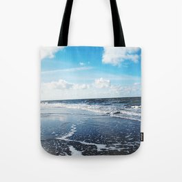North Sea Beach Tote Bag