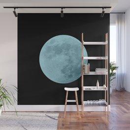 BLUE MOON // BLACK SKY Wall Mural