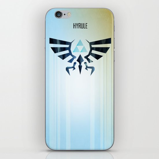 The Legend of Zelda - Hyrule Rising Poster iPhone & iPod Skin