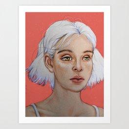 Stargirl Art Print