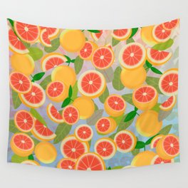 Grapefruit Song Wall Tapestry