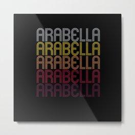 Arabella Name Gift Personalized First Name Metal Print