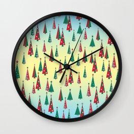 'Tis the Season Wall Clock