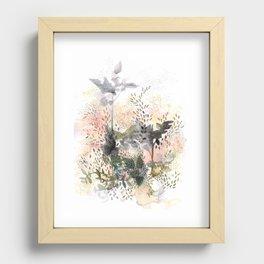 Jardin Recessed Framed Print