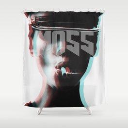 smokin' MOSS Shower Curtain