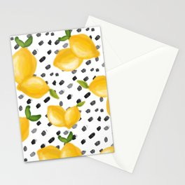 Lemon Squeeze Stationery Cards