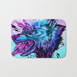 Crystal Wolf Bath Mat