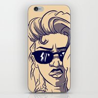 emily rickard iPhone & iPod Skins featuring Emily by Nunyah Bidness