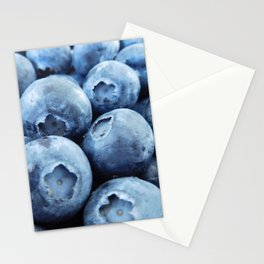 Fresh Ripe Blueberries Stationery Cards