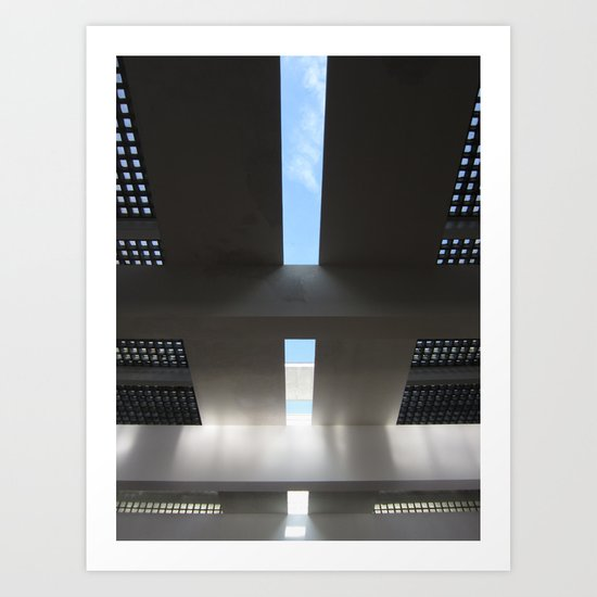 Casa del Fascio Art Print