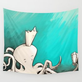 Octoking Wall Tapestry