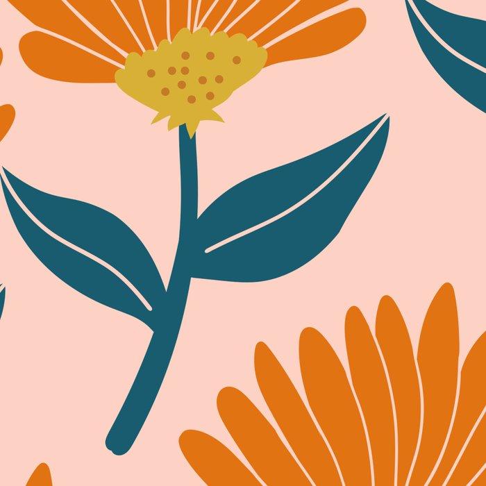 Floral_pattern Leggings