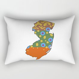 New Jersey Brook Trout Rectangular Pillow