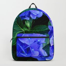Three Hydrangea Blossoms Backpack