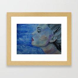 Breathe Painting Framed Art Print