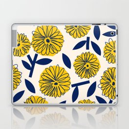Floral_blossom Laptop & iPad Skin