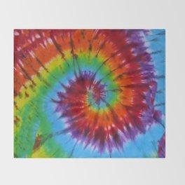 Tie Dye 004 Throw Blanket