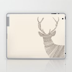 Stag / Deer (On Beige) Laptop & iPad Skin