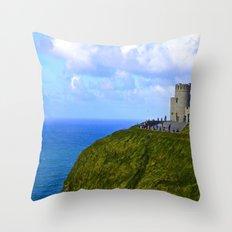 O'Brien's Tower Throw Pillow