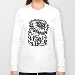 Black flower III Long Sleeve T-shirt