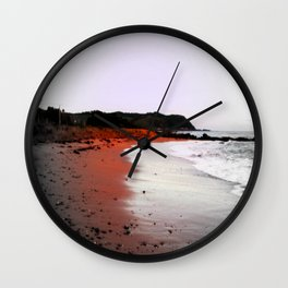 Red Sands Wall Clock