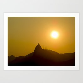 Cristo Redentor (Christ the Redeemer) Art Print