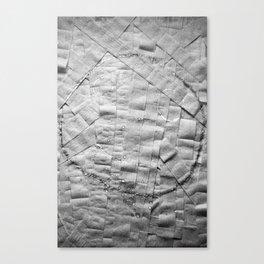 Smile on toilet paper Canvas Print