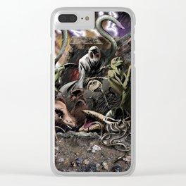 The Door of Infinite Portals Clear iPhone Case