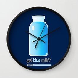 Blue milk   Star Wars Wall Clock