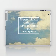 Beautiful Things  Laptop & iPad Skin