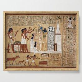 Anubis Serving Tray