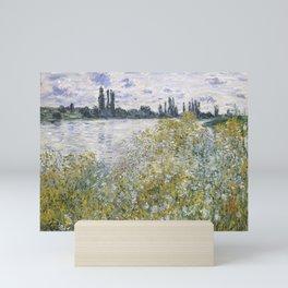 Île aux Fleurs near Vétheuil Mini Art Print