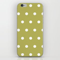 Green Dotted iPhone & iPod Skin