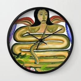 Hector Hyppolite - Damballah The Flame - Digital Remastered Edition Wall Clock